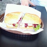 Photo taken at The Sandwich Spot by Robert M. on 2/18/2012