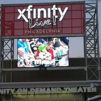 Photo taken at XFINITY Live! Philadelphia by Ipyani on 8/18/2012