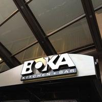 Photo taken at BOKA Restaurant + Bar by Felice L. on 3/15/2012