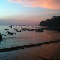 Photo taken at Pantai Pangandaran by Yoga I. on 8/24/2012
