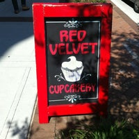 Photo taken at Red Velvet Cupcakery by Her on 6/27/2012