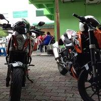 Photo taken at Bulat's Cafe by Hamzi M. on 8/27/2012