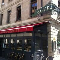 Photo taken at Café du Centre by Sergey C. on 7/3/2012