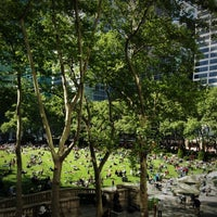 Photo taken at Bryant Park Grill by Allison J. on 5/11/2012