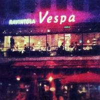 Photo taken at Ravintola Vespa by Roman V. on 8/25/2012