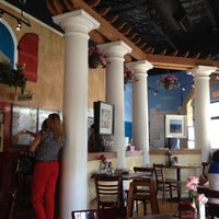 Photo taken at Papouli's Greek Grill by Grace-Valerie F. on 8/28/2012