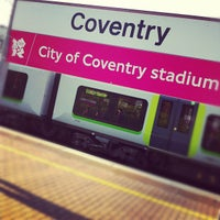 Photo taken at Coventry Railway Station (COV) by Dave M. on 7/29/2012