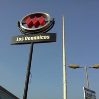 Photo taken at Metro Los Dominicos by Marcelo L. on 7/24/2012