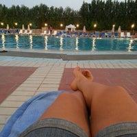 Photo taken at Radisson Blu Hotel, Kuwait by Nadia E. on 8/25/2012