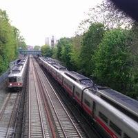 Photo taken at Metro North - Botanical Garden Train Station by Matt J. on 4/25/2012