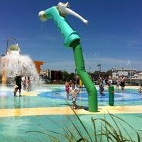 Photo taken at Asbury Park Beach by Oz BODYCON on 6/16/2012