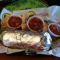 Photo taken at Moe's Southwest Grill by Amanda N. on 3/27/2012