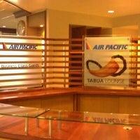 Photo taken at Fiji Airways Tabua Lounge by James P. on 3/12/2012