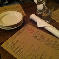 Photo taken at Senate Restaurant by Ashley B. on 2/22/2012