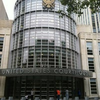 Photo taken at Theodore Roosevelt Federal Courthouse (U.S. District Court) by Bill B. on 7/26/2012