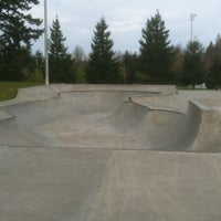 Photo taken at Tualatin Hills Skate Park by John F. on 4/15/2012