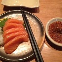 Photo taken at Sushi Tei by Citra Anggraini on 5/15/2012