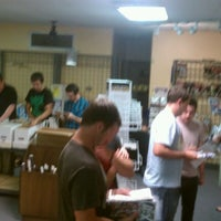 Photo taken at New Force Comics & Collectibles by Tony S. on 4/4/2012