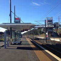 Photo taken at Swanson Train Station by Darren D. on 4/24/2012