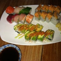 Photo taken at Moshi Moshi Sushi by Gwen M. on 7/28/2012