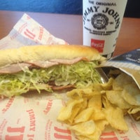 Photo taken at Jimmy John's by Dwayne C. on 4/26/2012