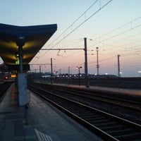Photo taken at Tarragona Railway Station by Oscar A. on 3/27/2012