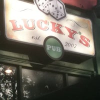 Photo taken at Lucky's Pub by Bob F. on 8/15/2012