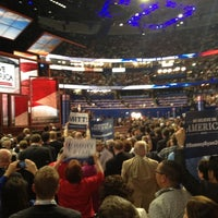 Photo taken at 2012 Republican National Convention by Richard C. on 8/31/2012