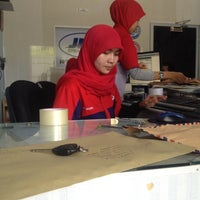 Photo taken at TIKI JNE by Faisal B. on 7/4/2012