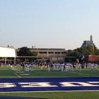 Photo taken at Varsity Stadium by Lauren R. on 9/3/2012