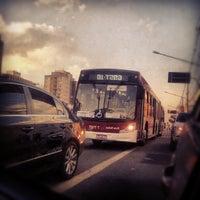 Photo taken at Rua Domingos de Morais by Gabriela J. on 8/24/2012
