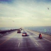 Photo taken at I-10 Twin Span Bridge by Heather J. on 6/21/2012