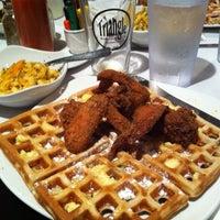 Photo taken at Dame's Chicken & Waffles by Scott B. on 2/24/2012
