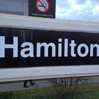 Photo taken at NJT - Hamilton Station (NEC) by Joseph M. on 4/11/2012