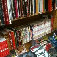 Photo taken at Livraria Saraiva by Thiago on 7/12/2012
