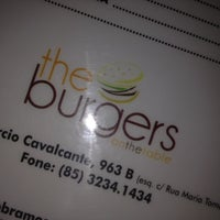 Photo taken at The Burgers on the table by Ranon S. on 4/4/2012