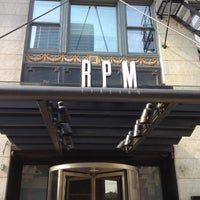 Photo taken at RPM Italian by Meghan B. on 5/26/2012
