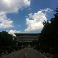 Photo taken at Konkuk University by Gyu-Hyeong K. on 8/2/2012