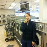 Photo taken at Bubbles III Laundromat by michelle t. on 4/27/2012