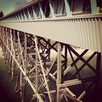 Photo taken at Bainbridge Island Ferry Terminal by Fred C. on 4/13/2012