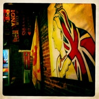 Photo taken at The Queen Vic by James C. on 2/12/2012