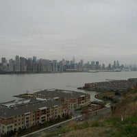 Photo taken at North Bergen Overlook by Alex on 3/25/2012