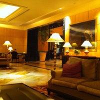 Photo taken at Hotel Mulia Senayan by K.J. C. on 3/31/2012