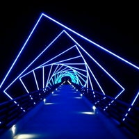Photo taken at Woodward High Trestle Trail Trailhead by Pam N. on 7/4/2012