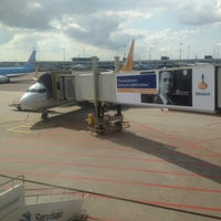 Photo taken at Gate D10 by Diego S. on 9/3/2012