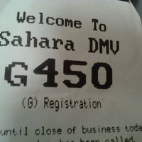 Photo taken at State of Nevada Department of Motor Vehicles by Ly'Myka M. on 3/27/2012