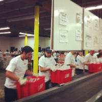 Photo taken at Los Angeles Regional Foodbank by Jeannie H. on 6/9/2012