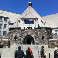 Photo taken at Timberline Lodge by Peter T. on 7/23/2012