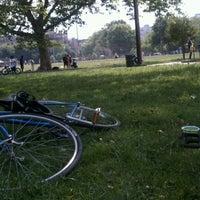 Photo taken at McCarren Park by Lisa on 6/10/2012