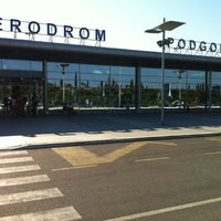 Photo taken at Podgorica Airport (TGD) by Tafuin on 6/18/2012
